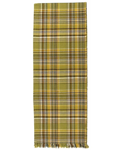 Mccall 100% Cotton Plaid Table Runner (Set of 2) by August Grove